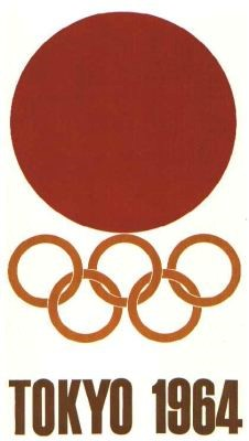 1964 olympic games poster