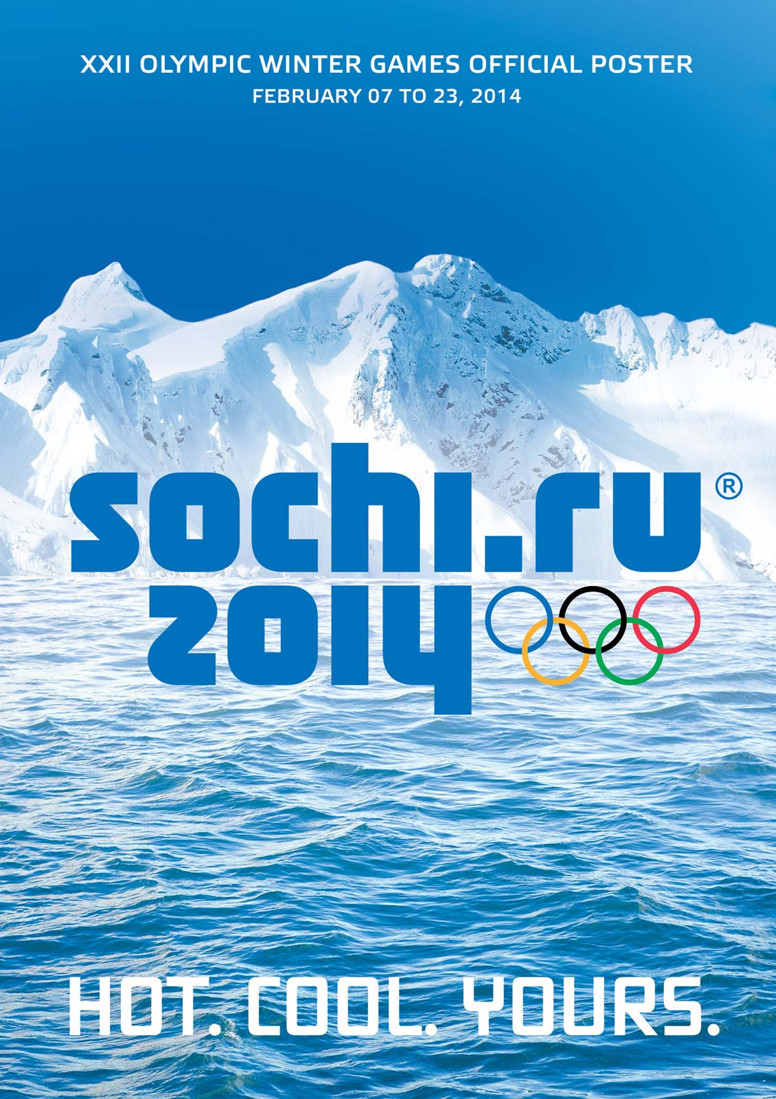 poster Olympic Winter Games Russia Sochi 2014