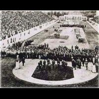 The opening ceremony 1896